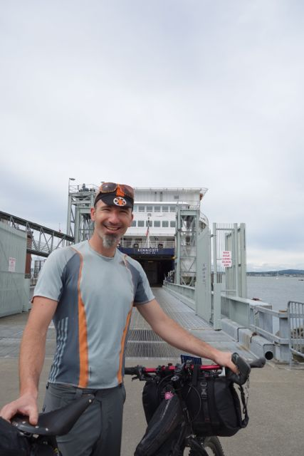 Standing at the gate of the SS Kennicott